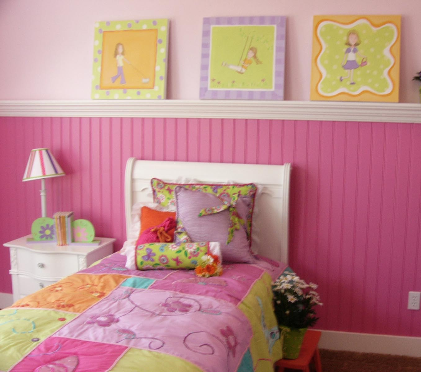 Pink Girl Bedrooms Traditional Little Girls Rooms Shared Girls Young girls  bedroom design  Modern Bedroom. Little Girl Bedroom Design   PierPointSprings com